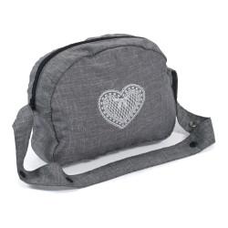Bayer Chic přebalovací taška na kočárek pro panenky 76 - Grey Jeans