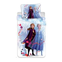 """Jerry Fabrics ágynemű Frozen 2 """"White"""" 140x200 70x90"""