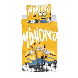 """Jerry Fabrics ágynemű Minyonok 2 """"Yellow"""", 140x200 70x90"""