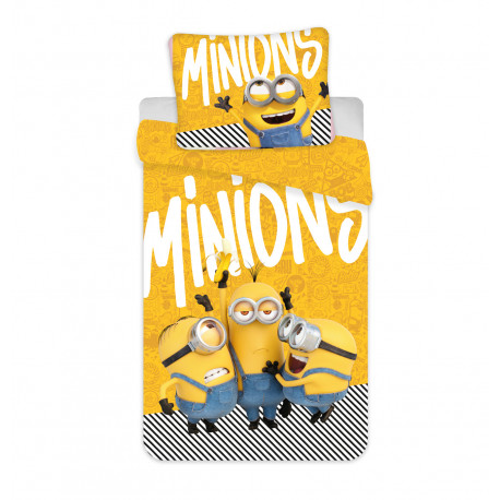 "Jerry Fabrics povlečení Mimoni 2 ""Yellow"", 140x200 70x90"