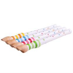 Bigjigs Toys Dřevěná flétna 1ks zelená