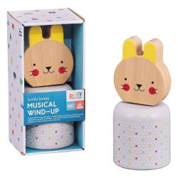 Petitcollage Dřevěná hrací postavička Zajíček