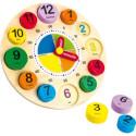 Hodiny na učení, písmena, čísla