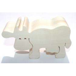 Fauna Dřevěné zvířátko kráva
