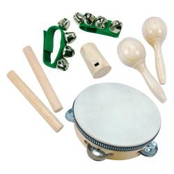 Bino Hudební nástroje mini orchestr 8 dílu