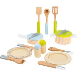 Small Foot Dřevěné základní nádobí do kuchyňky