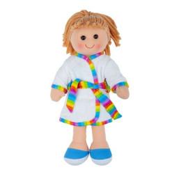 Bigjigs Toys Látková panenka Michelle 34 cm