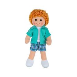 Bigjigs Toys Látková panenka Jacob 28 cm
