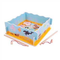 Bigjigs Toys Magnetické chytání rybiček