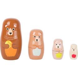 Small Foot Matrjoška medvědí rodina