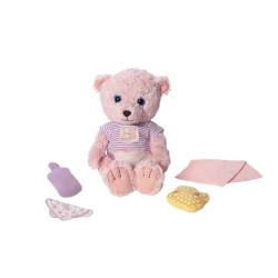 Zvukový medvídek Tapsi, 38 cm, růžový