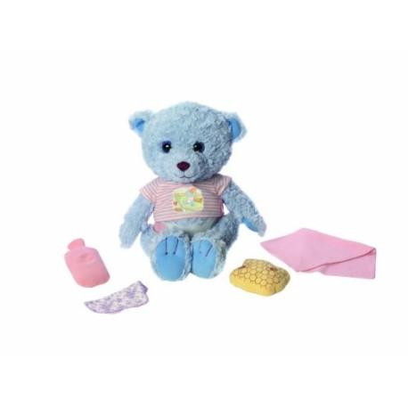 Zvukový medvídek Tapsi, 38 cm, modrý
