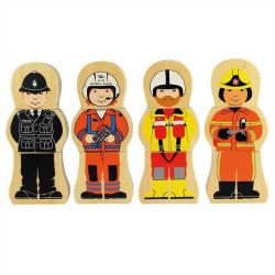Bigjigs Toys Dřevěné puzzle profese