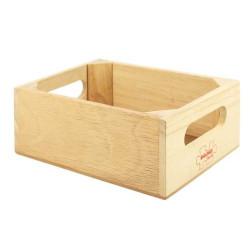 Bigjigs Toys Dřevěná krabička na potraviny