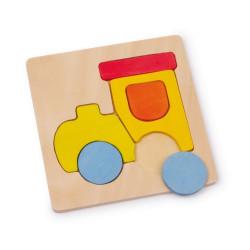 Small Foot Puzzle dopravní prostředky