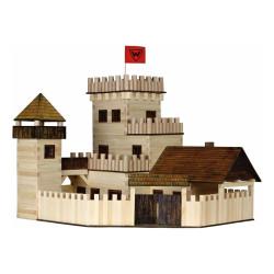 Walachia Dřevěná slepovací stavebnice Hrad