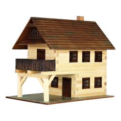 Walachia Dřevěná slepovací stavebnice Radnice