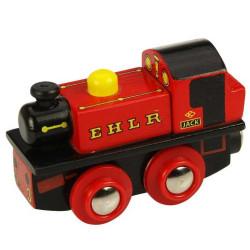 Bigjigs Rail Dřevěná replika lokomotivy EHLR Jack