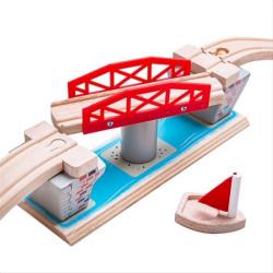 Bigjigs Rail Otočný most
