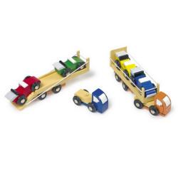 Small Foot 2 přepravní vozidla závodních aut