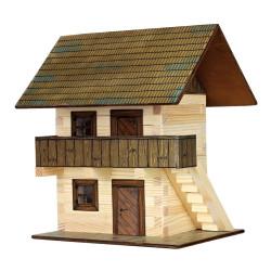 Walachia Dřevěná slepovací stavebnice Špýchar