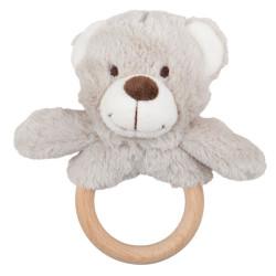 Bigjigs Baby Medvídek dotykový kroužek