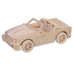 Woodcraft Dřevěné 3D puzzle malé BMW