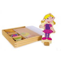 Small Foot Oblékací box Ramona