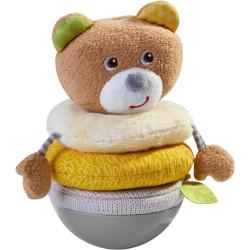 Haba Kývací stohovací medvěd