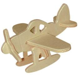 Woodcraft Dřevěné 3D puzzle mini skládačka letadlo