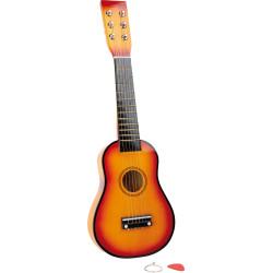 Small Foot Dětská kytara hnědá