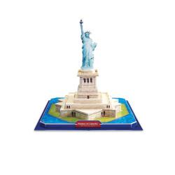 Small Foot 3D puzzle Socha Svobody