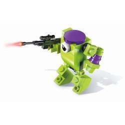 Qman Hyperfunction Tactical Unit 2101-5 Robot Troops 3v1