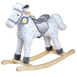 Bigjigs Toys Vzorovaný houpací kůň