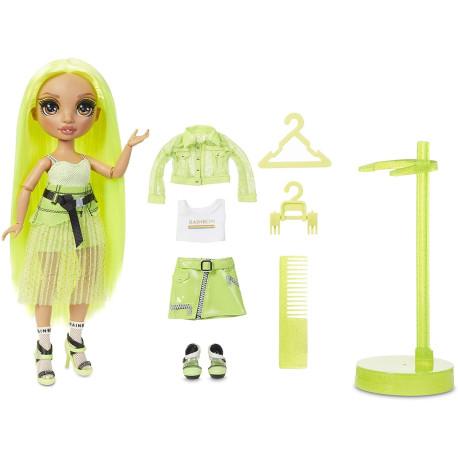 MGA Rainbow High Fashion panenka - Karma Nichols (Neon)
