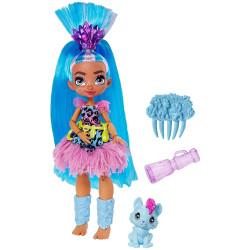 Mattel Cave Club panenka s dino zvířátkem Tella