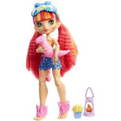 Mattel Cave Club Přespání u přátel - panenka Emberly