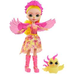Mattel Royal Enchantimals Panenka se zvířátkem Falon Phoenix & Sunrise