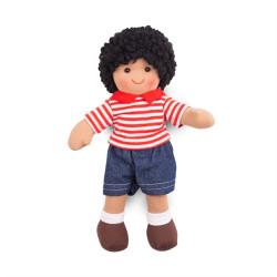 Bigjigs Toys Látková panenka Otis 28 cm