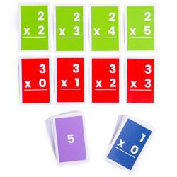 Bigjigs Toys Kartičky násobení 1-6