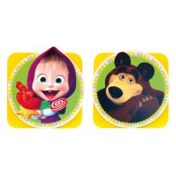 Bino Magnetický kolíček Máša a medvěd