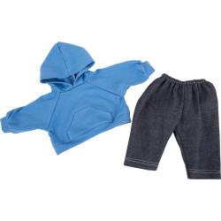 Small Foot Oblečení pro panenky mikina a kalhoty
