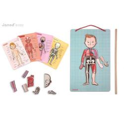 Janod Magnetická skládačka Lidské tělo Bodymagnet