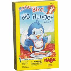 Společenská hra Malý ptáček s velkým hladem Haba anglická verze od 3 let