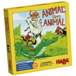 Společenská hra na rozvoj motoriky Zvíře na zvíře Haba od 4 let