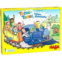 Dětská společenská hra Vláček Choo Choo malá stanice
