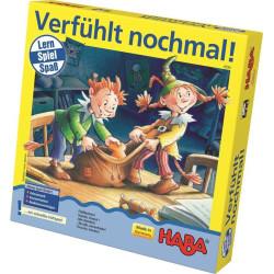 Senzorická hra pro děti Pexeso v sáčku Obrázky Haba od 3 let