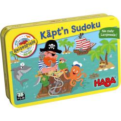 Haba Mini hra v kovové krabici Kapitán Sudoku magnetická