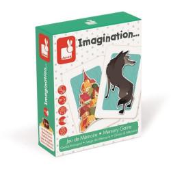 Karetní hra Vytvoř si příběh Janod 6-12 let 2-5 hráčů 50 karet hra na paměť