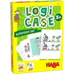Logická hra pro děti - rozšíření Piráti LogiCASE Haba od 5 let